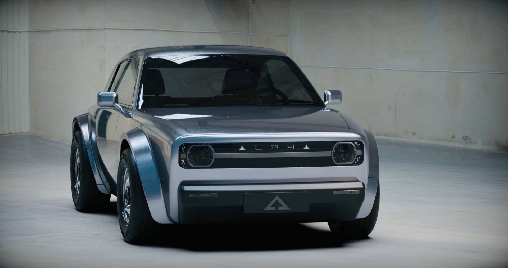 Alpha Ace - ny elbil med retroutseende