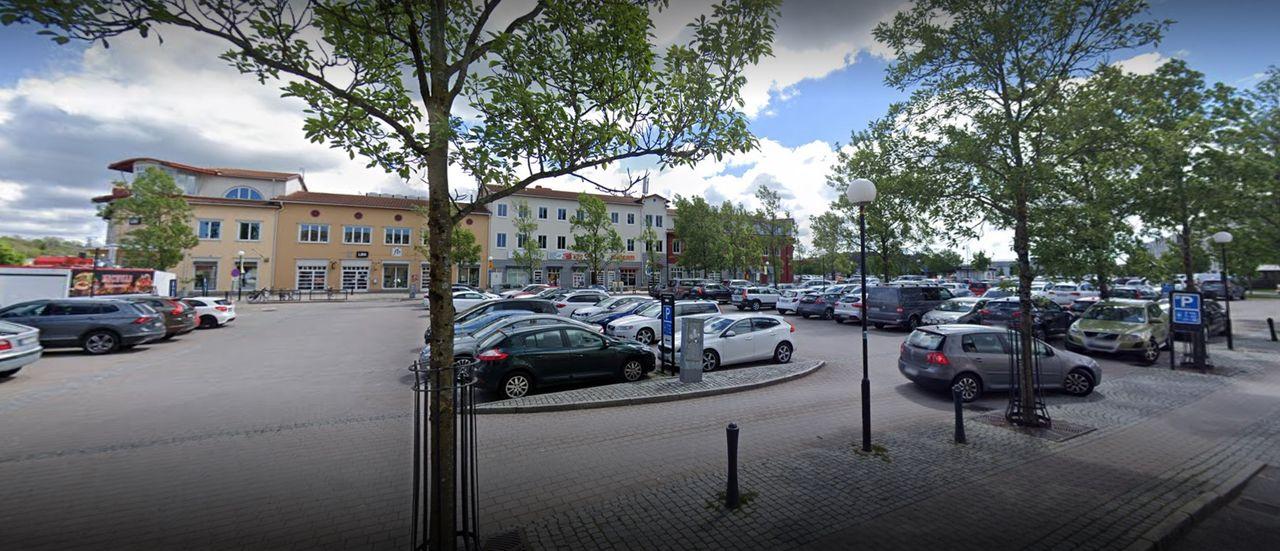 Fin parkeringsanmärkning