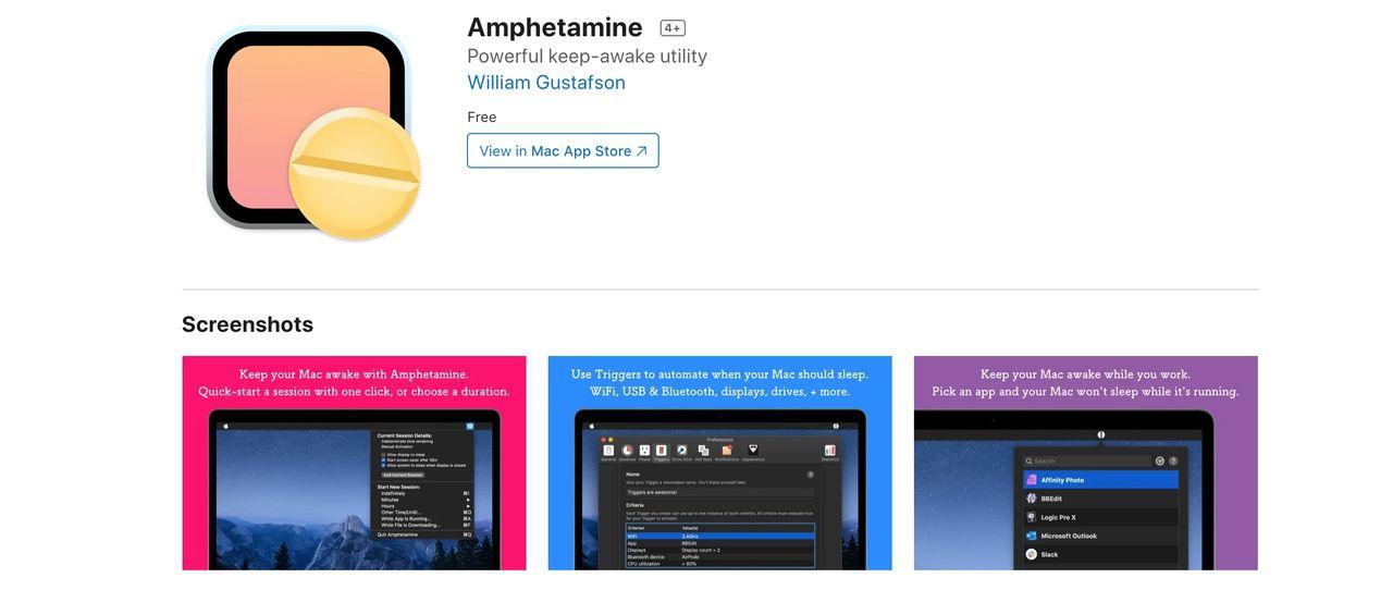 Apple vill plocka bort appen Amphetamine