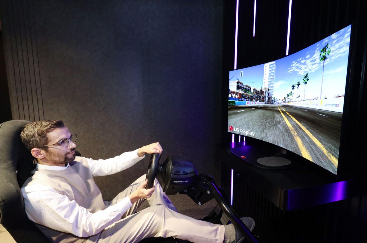 LG visar böjbar datorskärm på CES