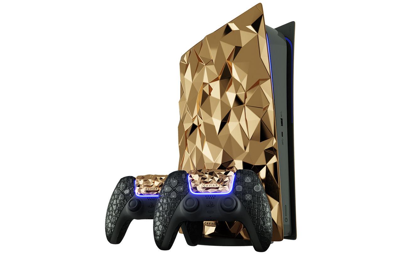Pimpa din PlayStation 5 med 20 kilo guld