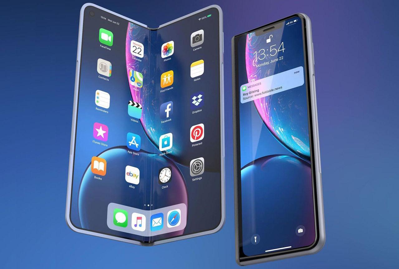Foxconn sägs ha gjort prototyper för vikbara telefoner till Apple