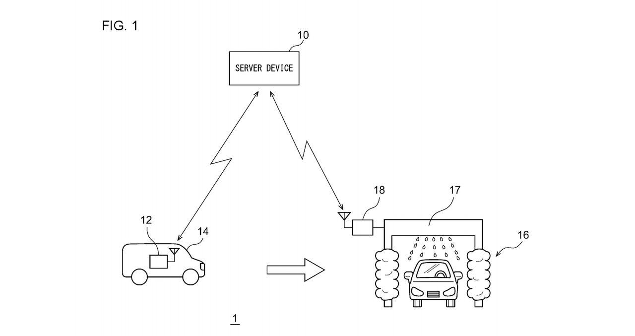 Toyota tar patent på biltvätt för självkörande bilar