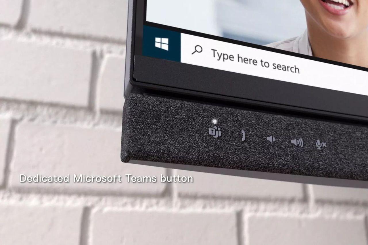 DELL:s nya skärmar är byggda med videokonferenser i åtanke