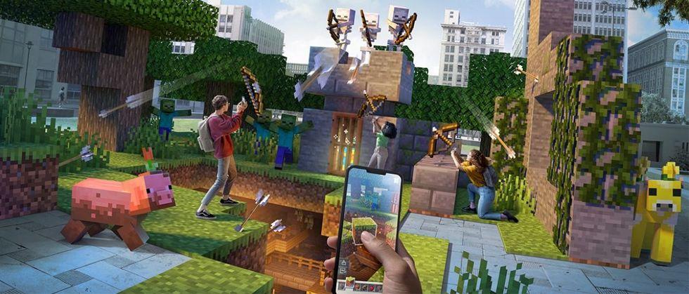 Minecraft Earth stänger ner i sommar