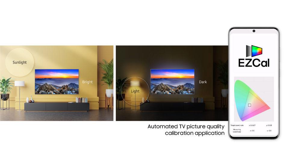 Ny app från Samsung kalibrerar tv:n automatiskt