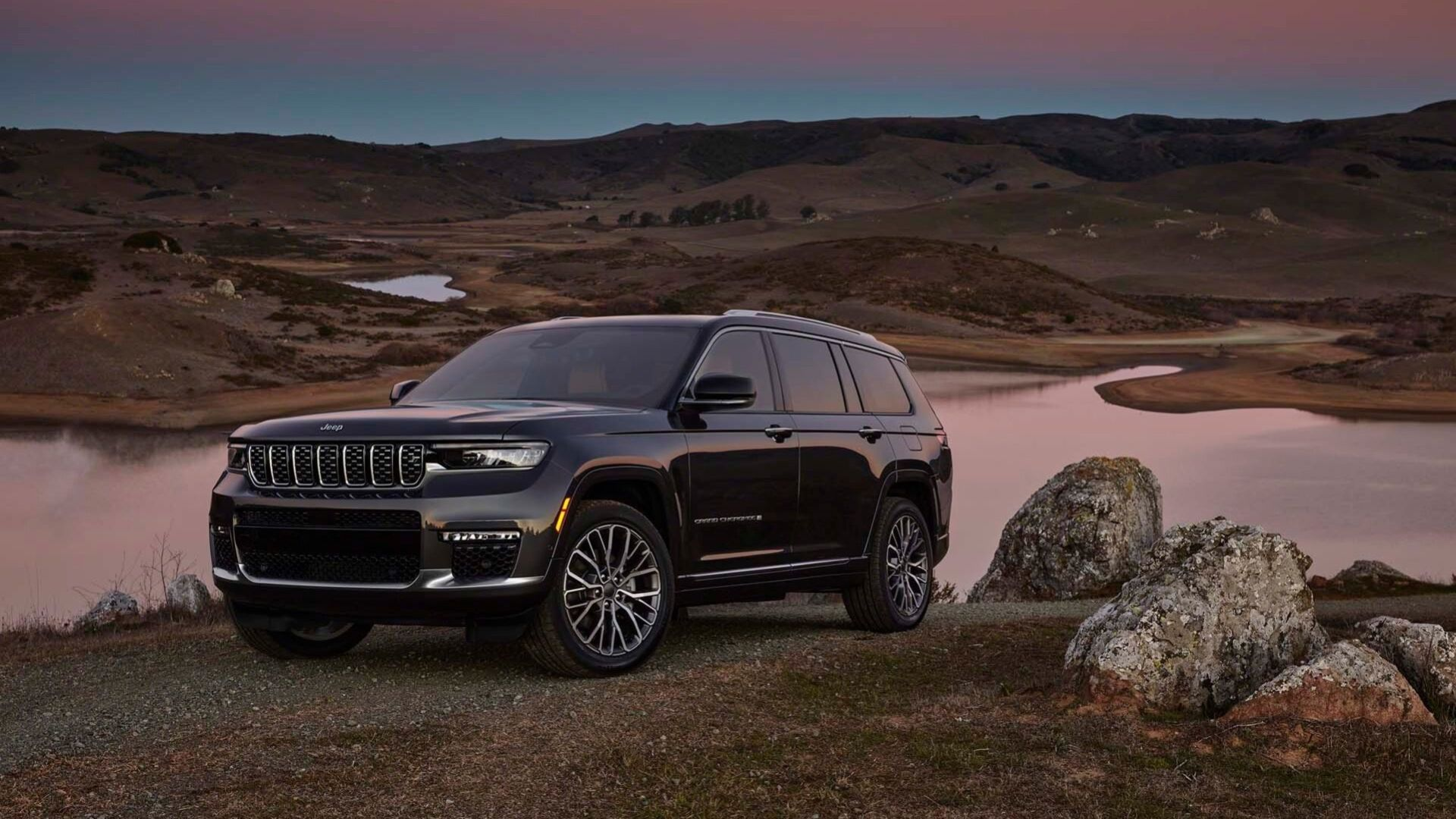 Jeep presenterar Grand Cherokee L
