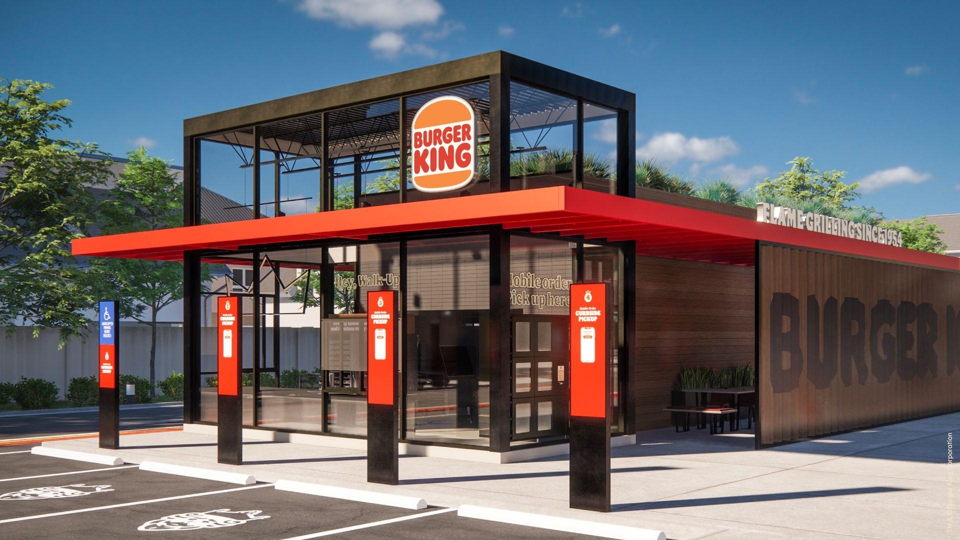 Det här är Burger Kings nya stil