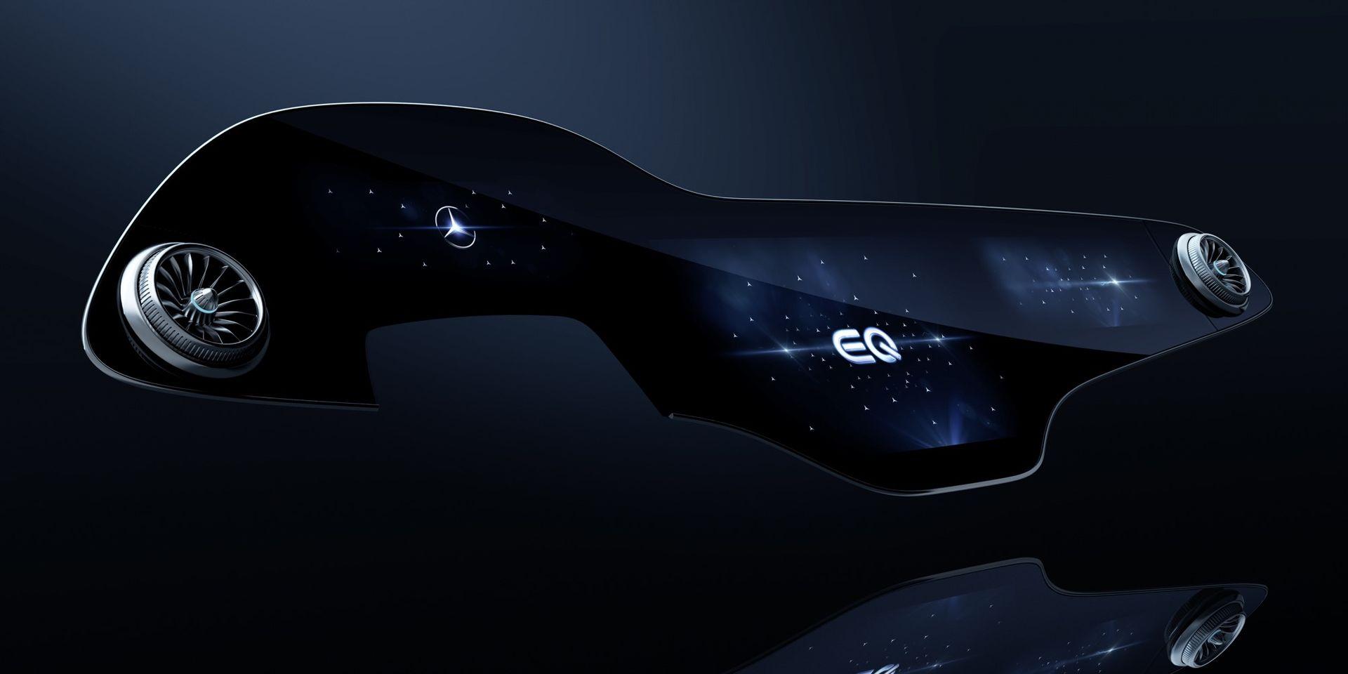 Det här är Mercedes nya monsterskärm på 56 tum