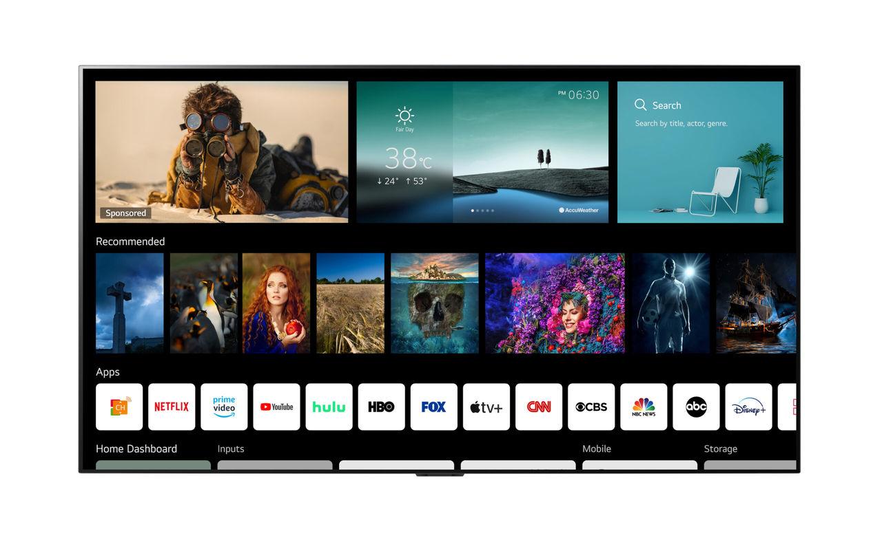 LG visar upp webOS 6.0