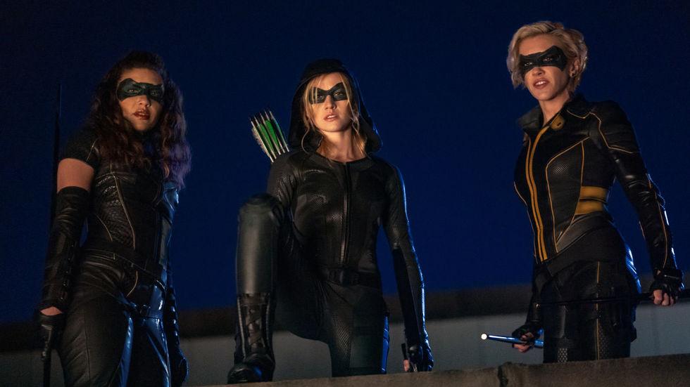 CW plockar inte upp Green Arrow-spinoff