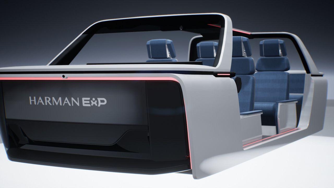 Harman presenterar tre nya koncept för insidan av bilen