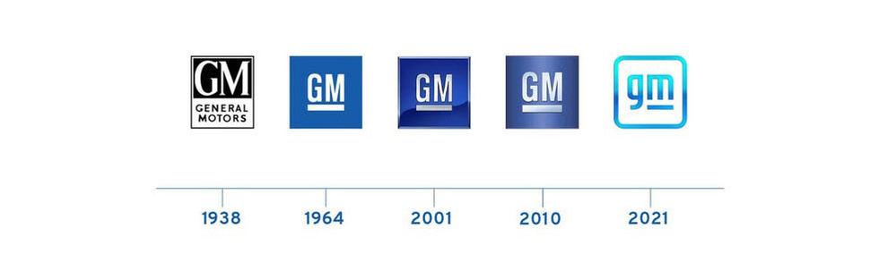 General Motors har ny logga