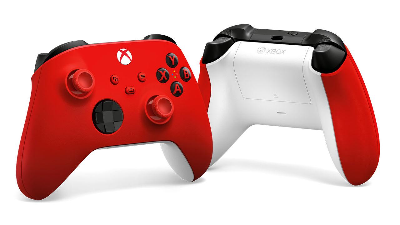 Microsoft släpper nya Xbox-kontrollen i rött