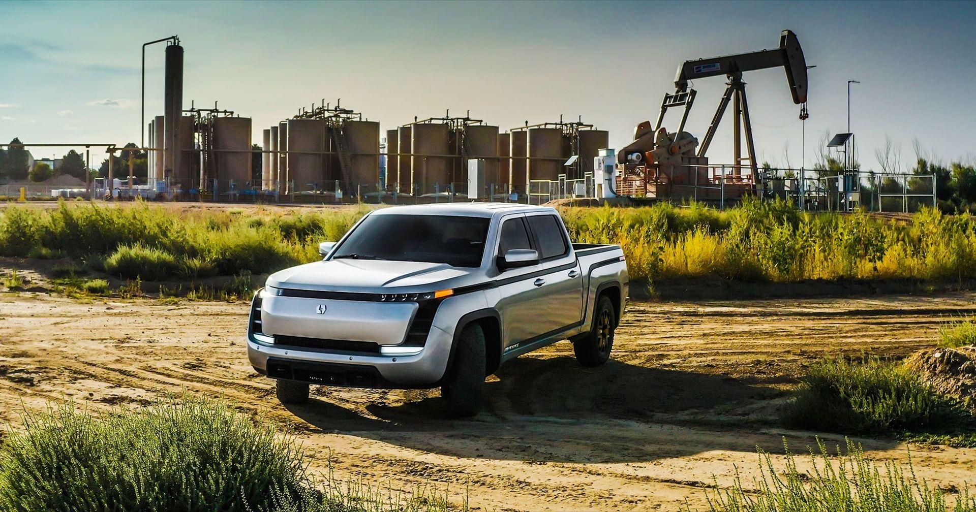 Över 100.000 beställningar av Lordstowns eldrivna pickup
