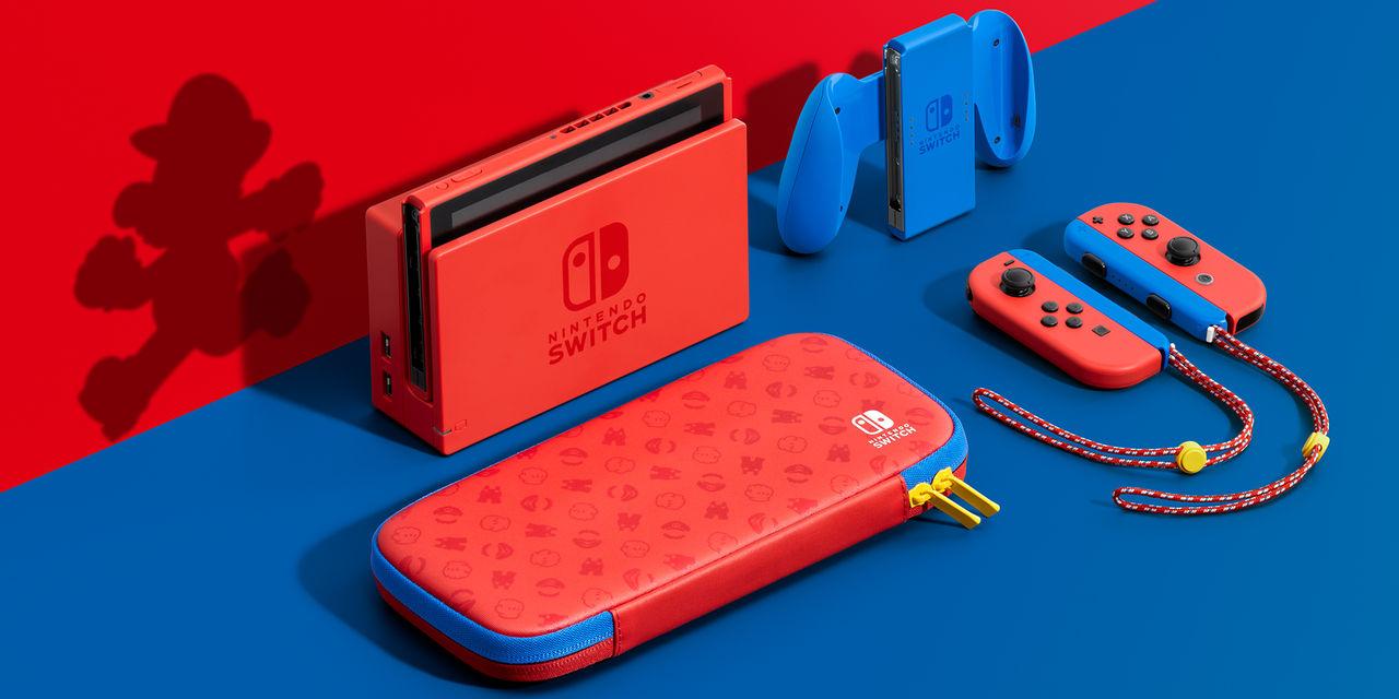 Nintendo visar upp nytt Switch med Mario-tema