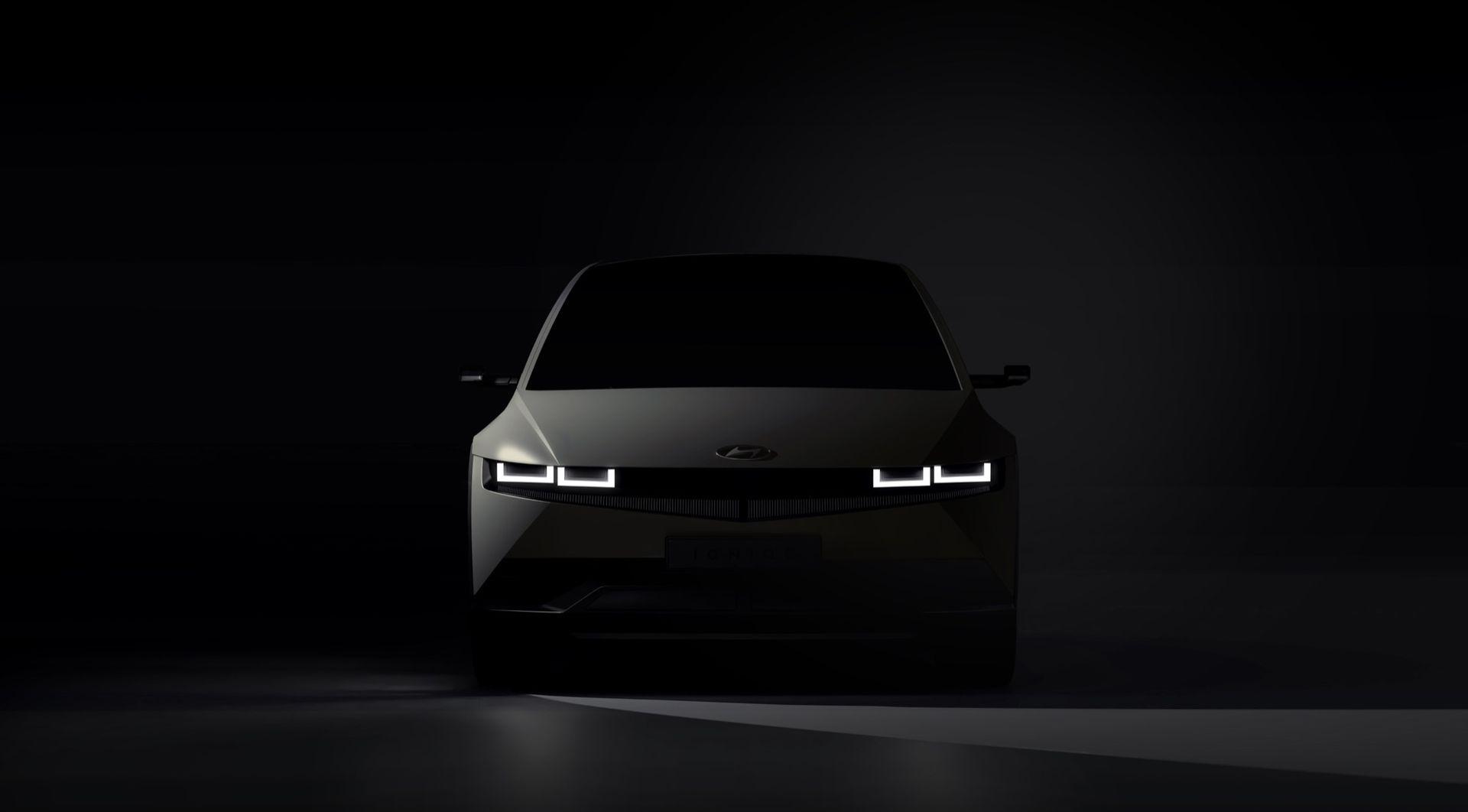 Första bilderna på Hyundai Ioniq 5