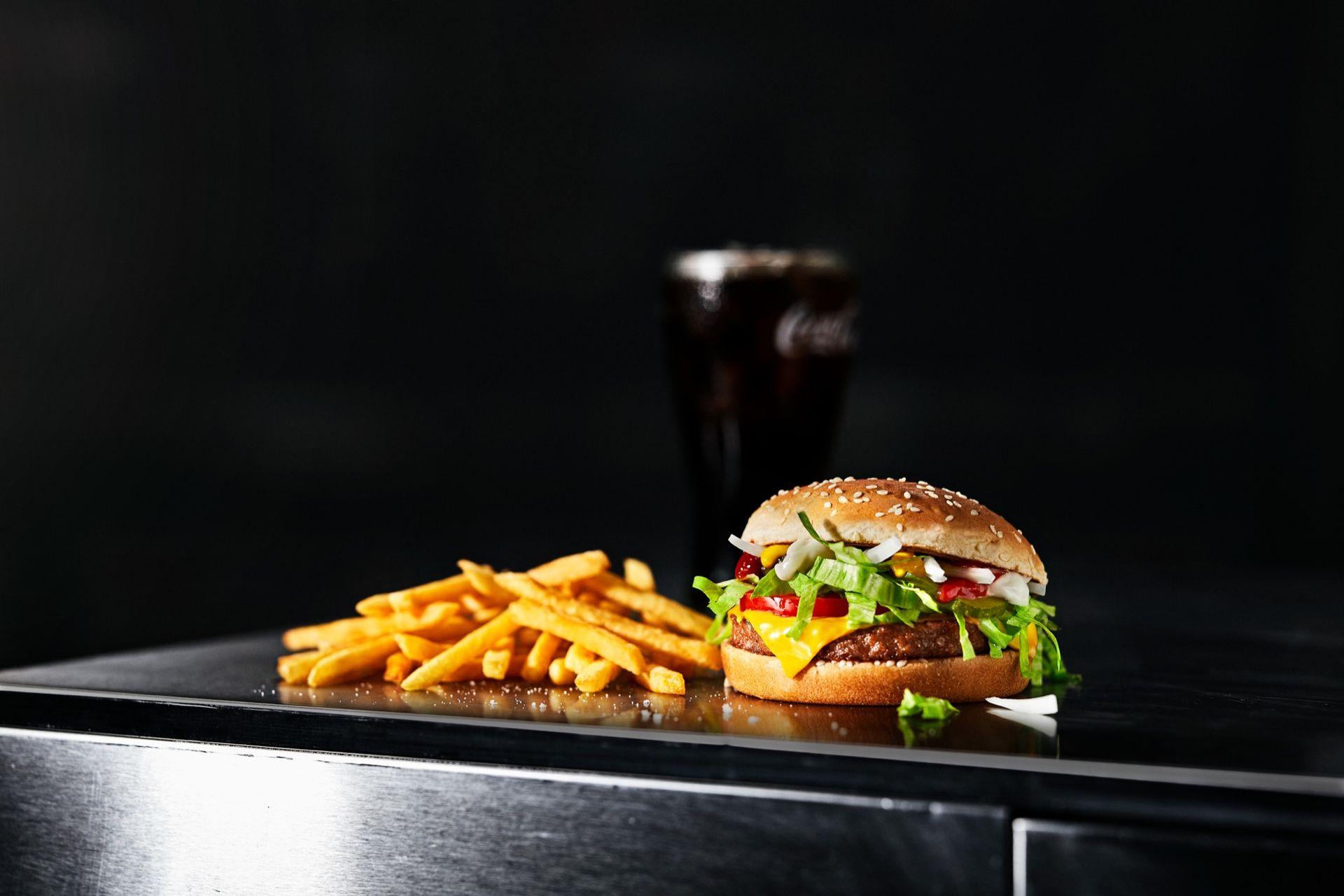 McDonald's presenterar McPlant