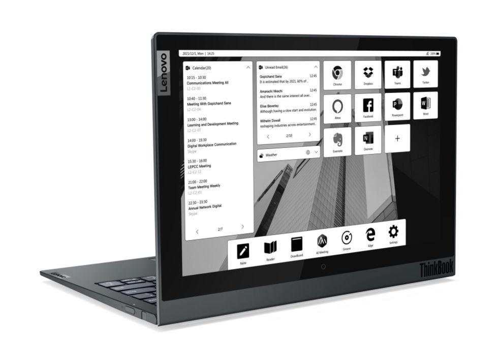 Lenovo ThinkBook Plus Gen 2 får en större e-ink-skärm