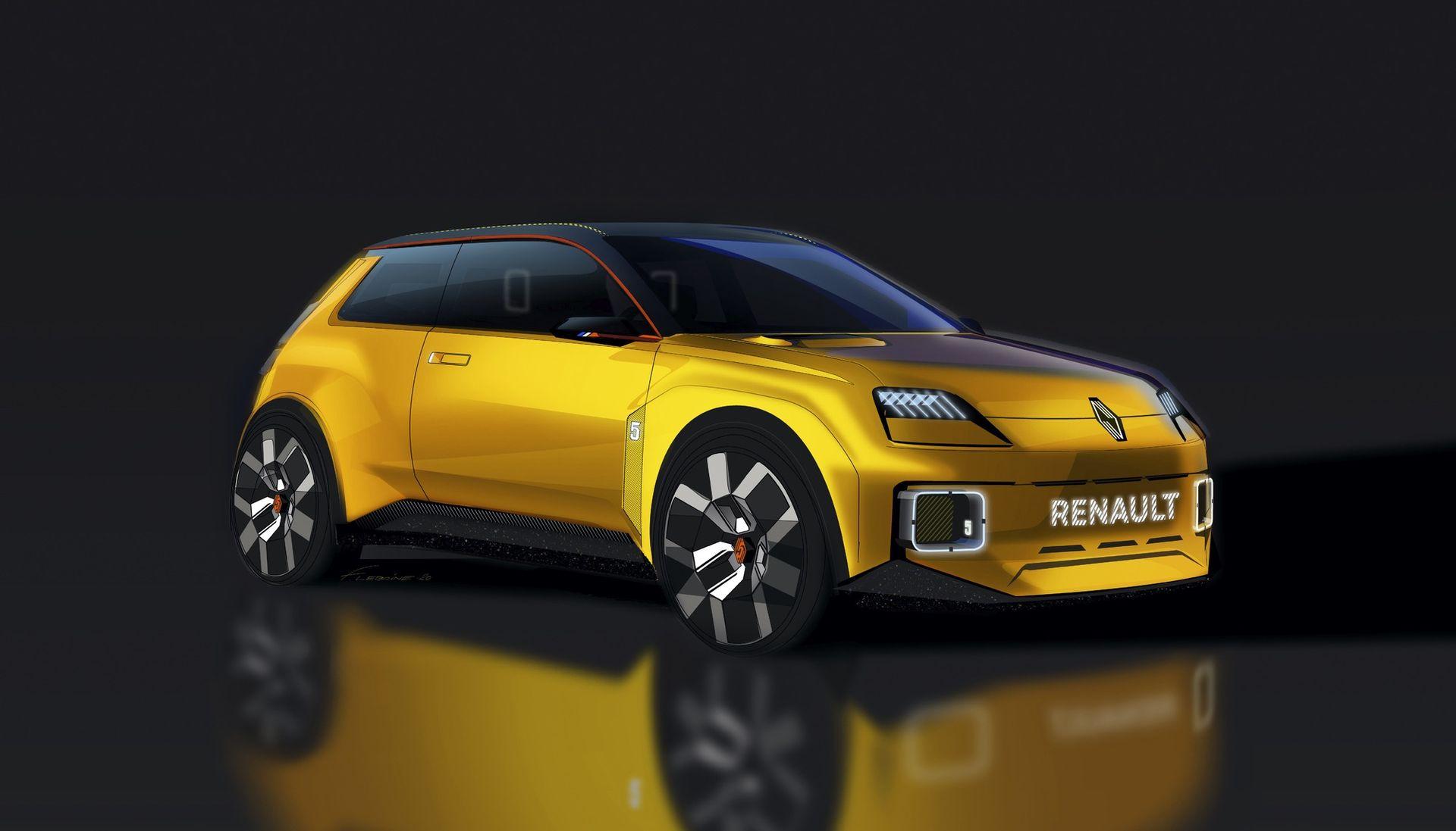 Renault 5 gör comeback