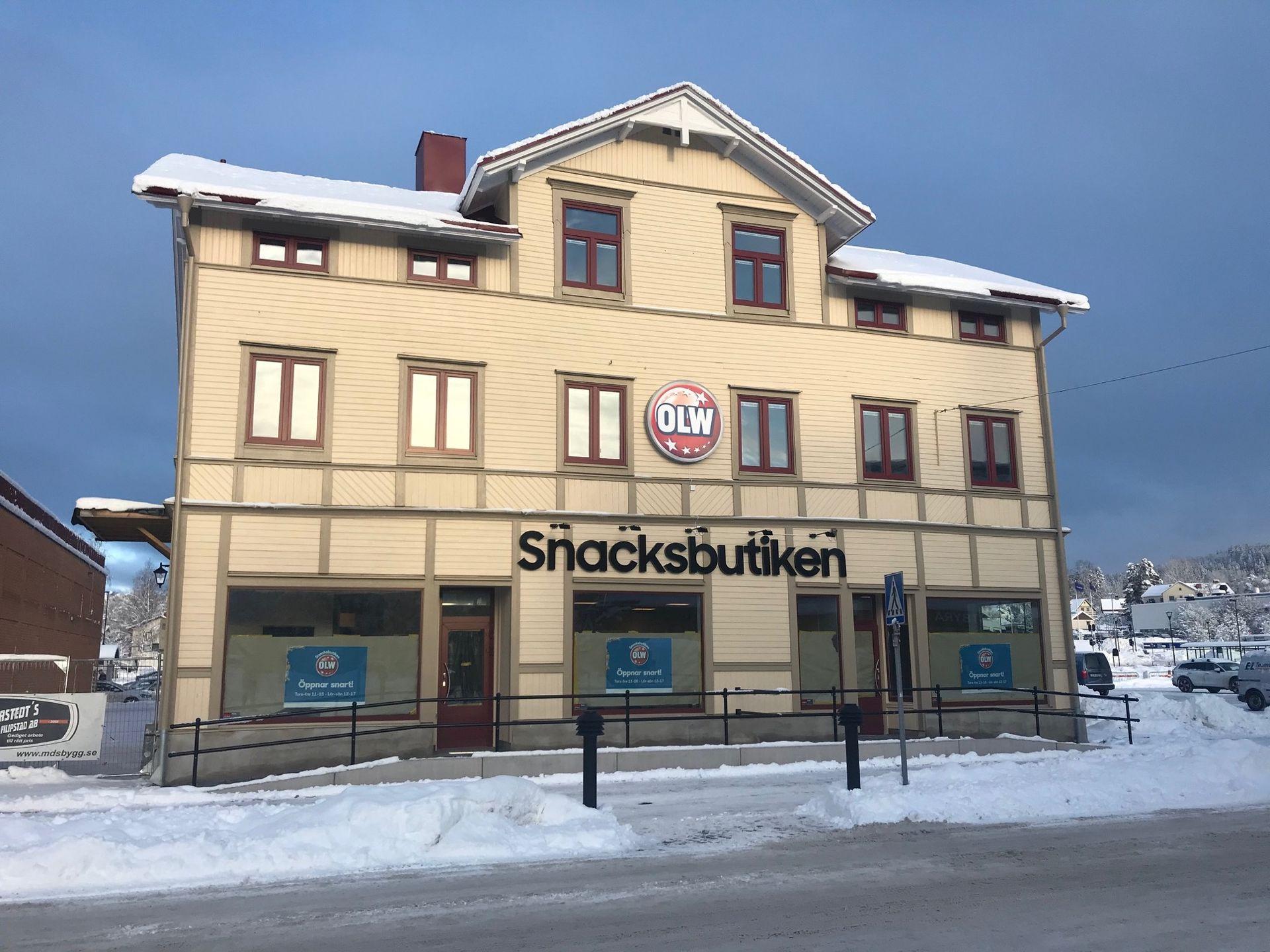 OLW öppnar snacksbutik