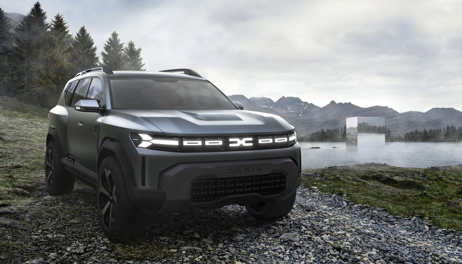 Bigster Concept är Dacias kommande flaggskepps-SUV