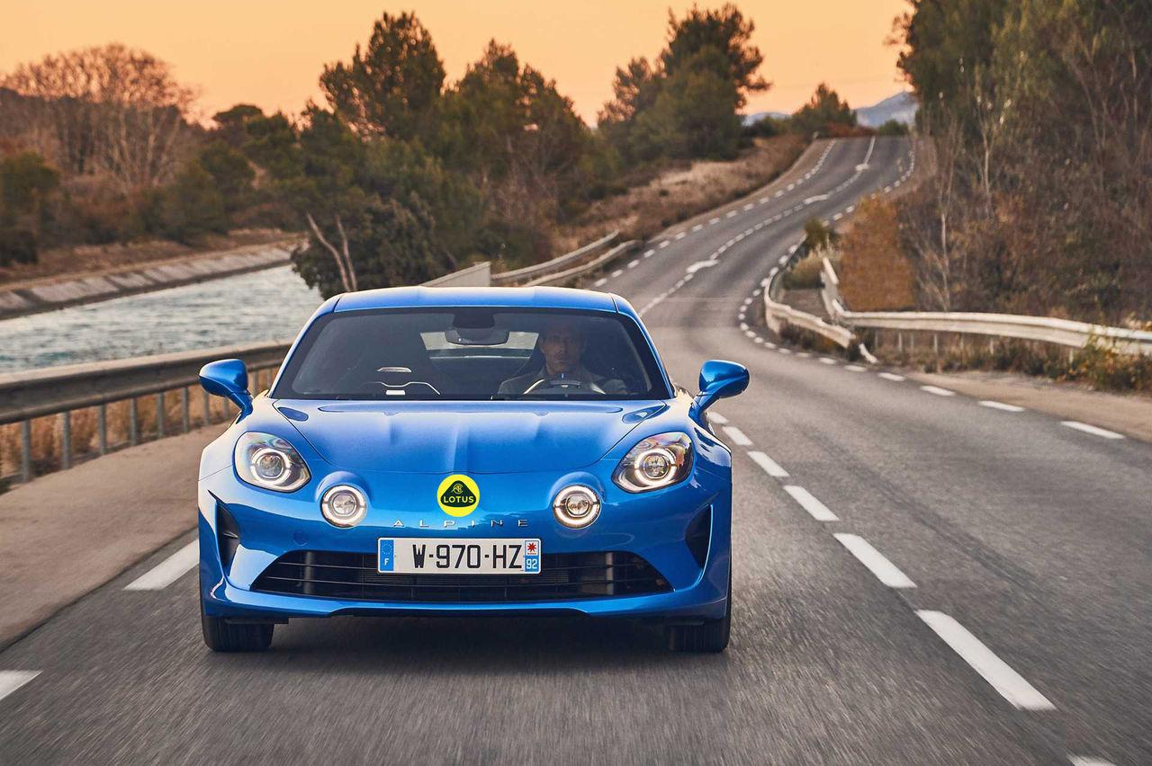 Lotus och Alpine ska bygga eldriven sportbil ihop