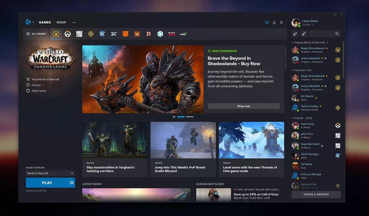Battle.net uppdateras med ny design