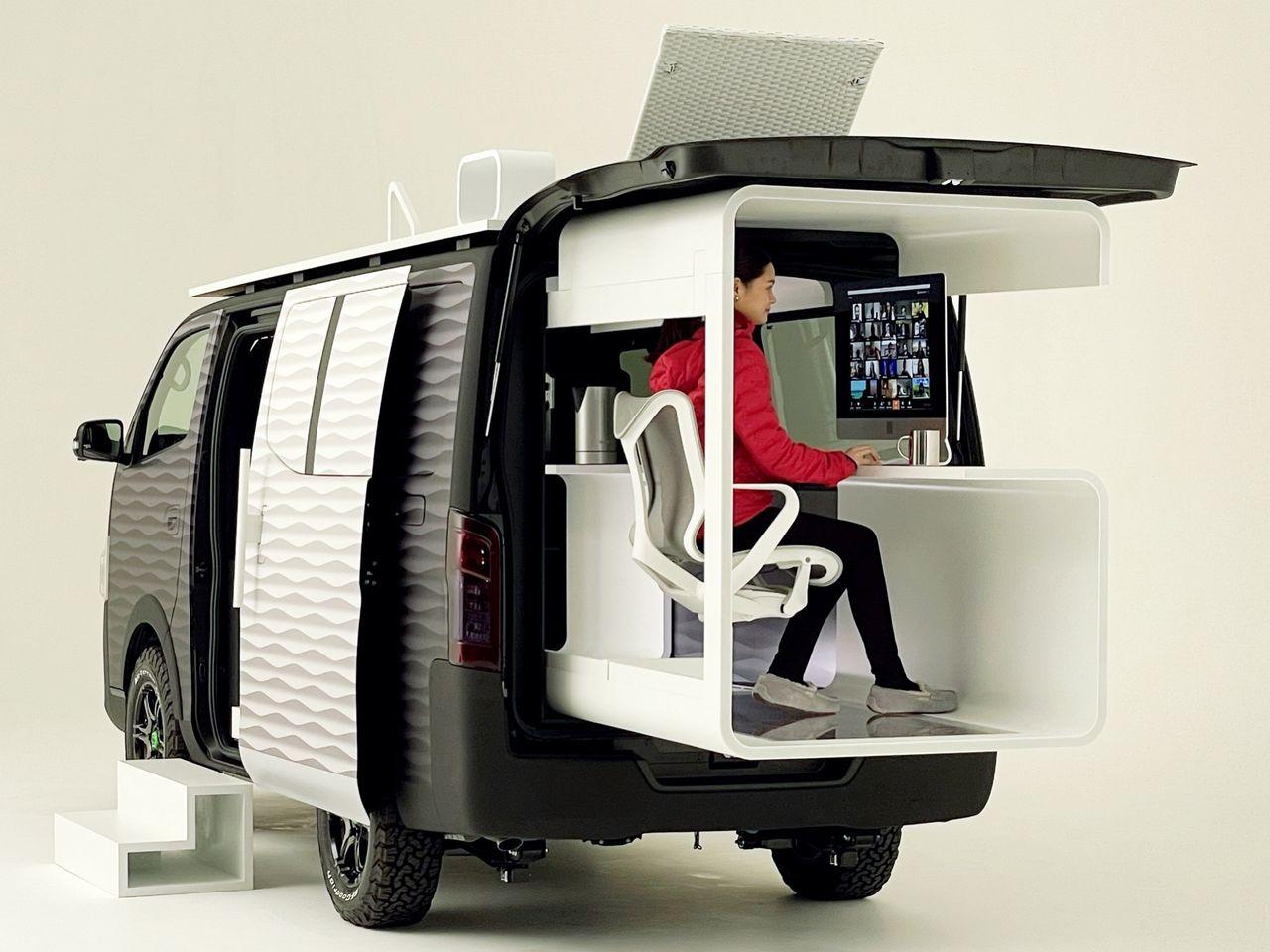 Nissan visar nytt rullande kontor