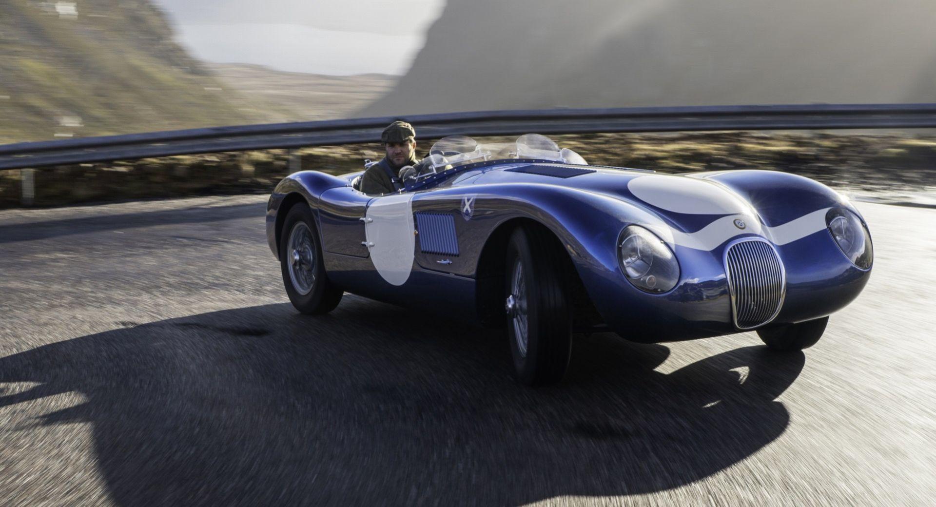 Ecurie Ecosse återskapar Jaguar C-Type