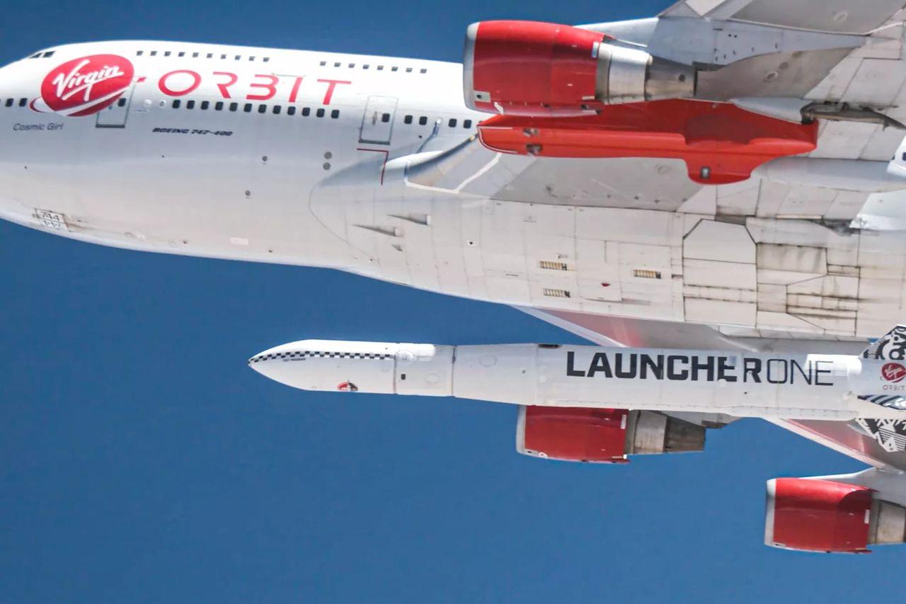Virgin Orbits raket har tagit sig till rymden för första gången