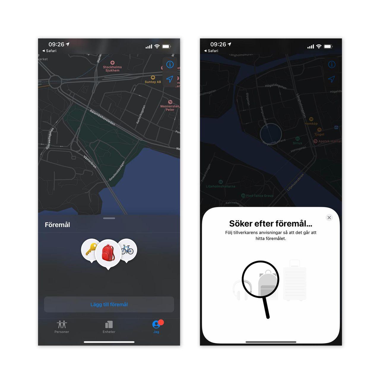 Snart kommer Apples hitta-funktion till tredjepart