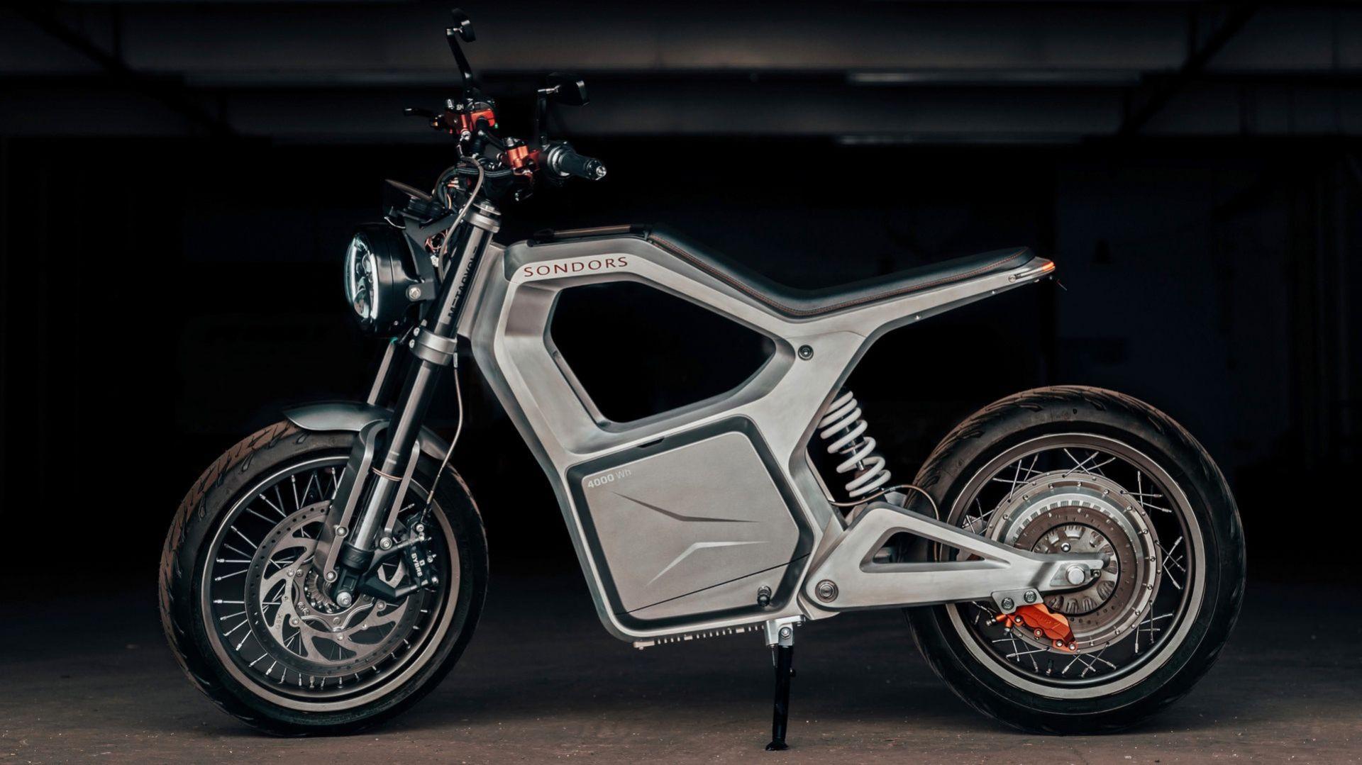 Sondors presenterar den eldrivna motorcykeln Metacycle