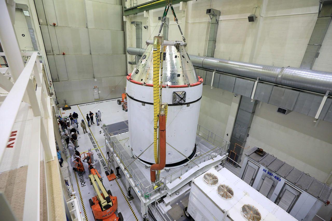 Orion är redo att åka till månen