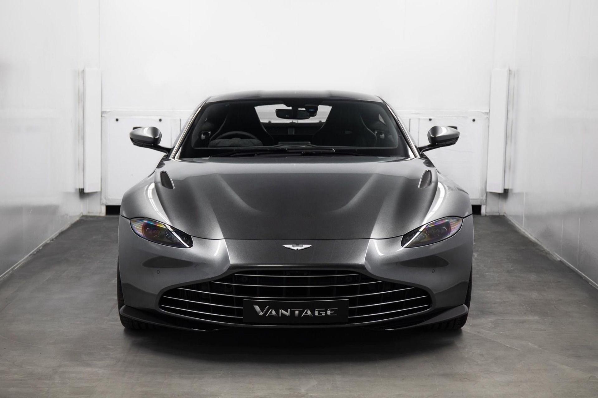 Nu erbjuder även Aston Martin grillbyte på Vantage