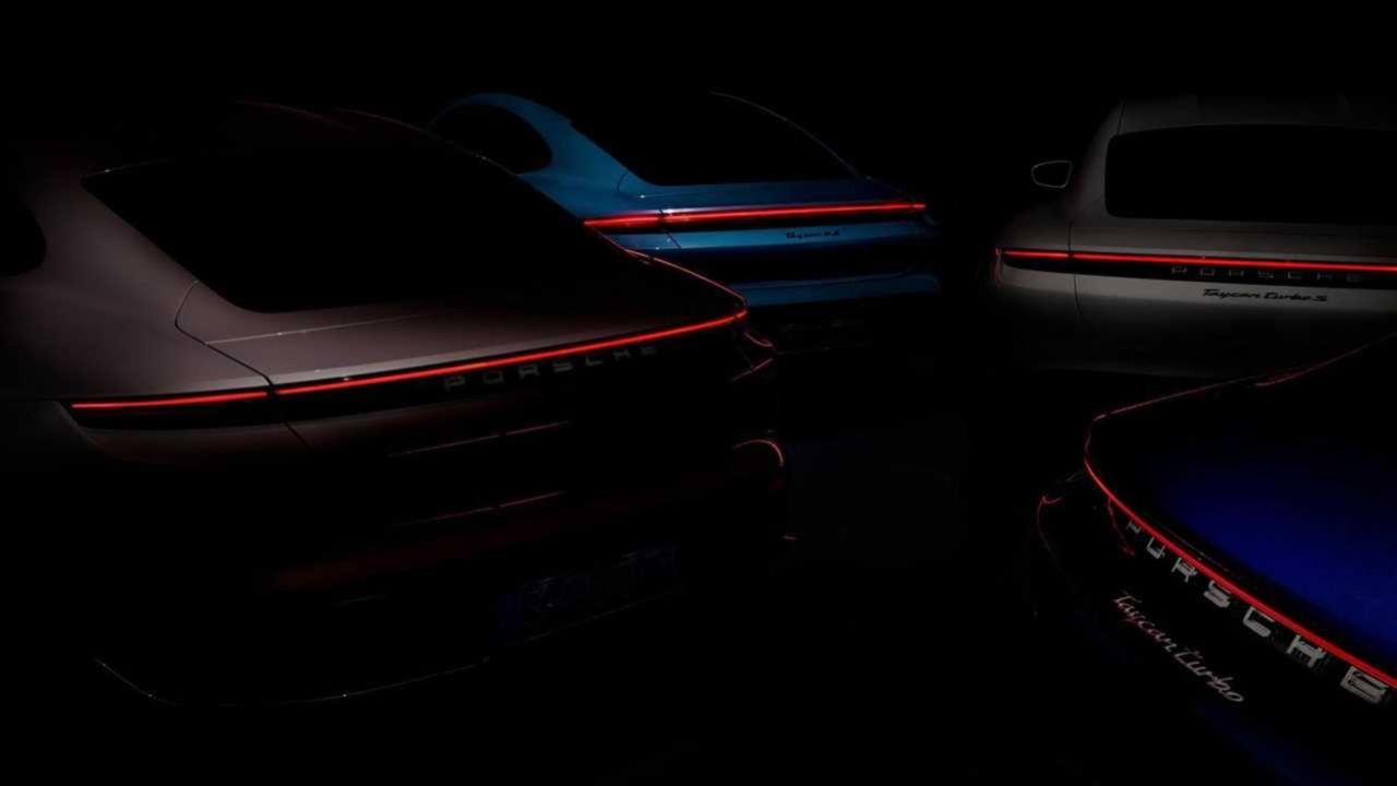 Porsche smygvisar ny version av Taycan