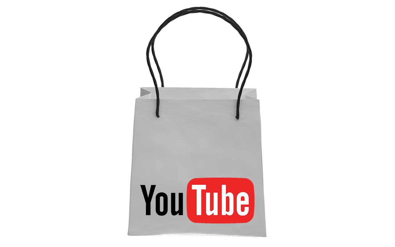 YouTube testar shopping direkt från videoklipp
