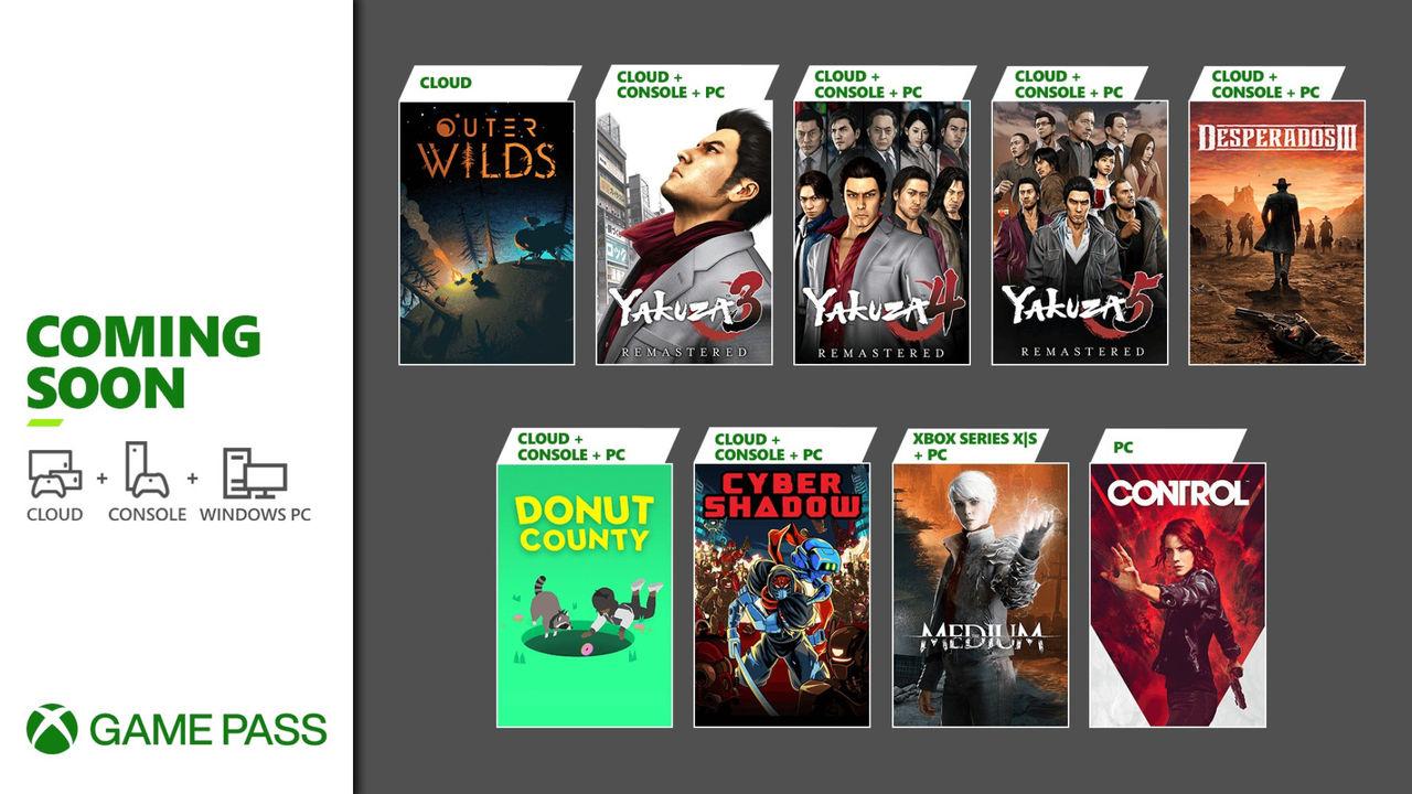 Ännu fler spel på ingång till Xbox Game Pass