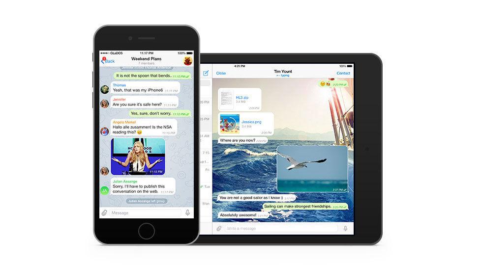 Apple stäms att få bort Telegram från App Store