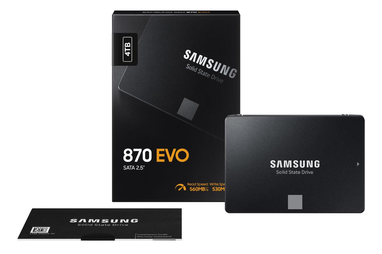 Samsung presenterar nya 870 Evo SSD