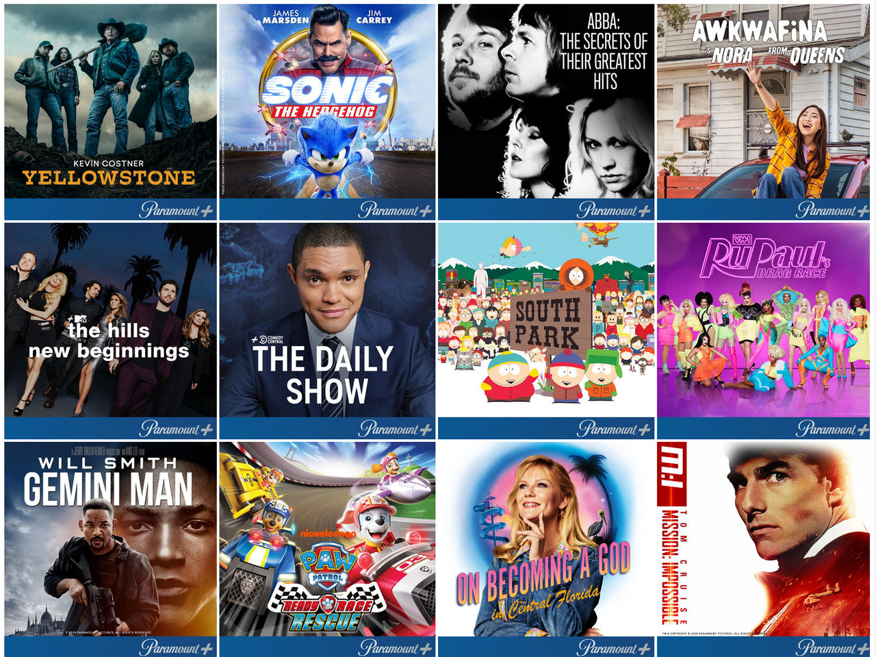 Paramount+ släpps 25 mars i Sverige