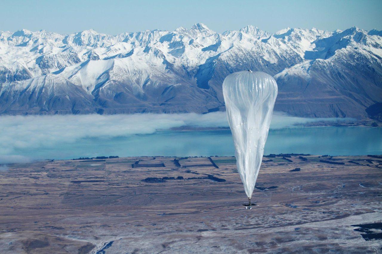 Inget internet via ballonger
