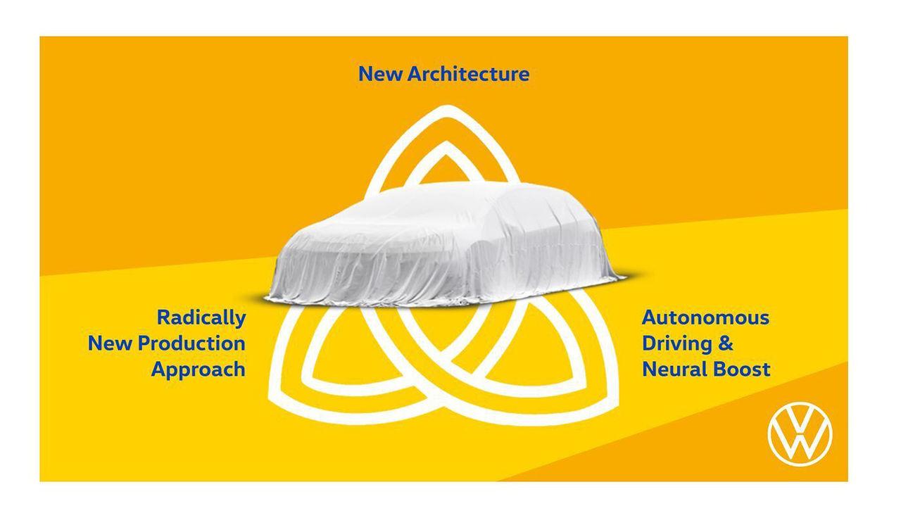 Volkswagen har en ny elbil kallad Trinity på gång