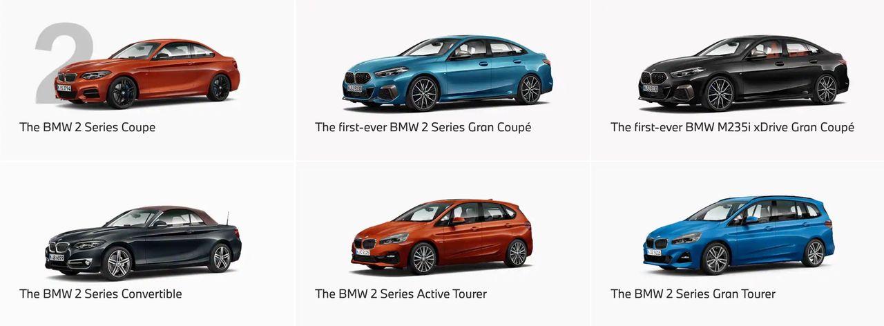 BMW ska slimma sitt utbud