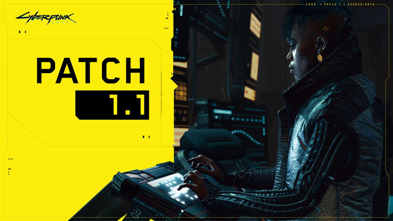 Cyberpunk 2077 fick stor uppdatering