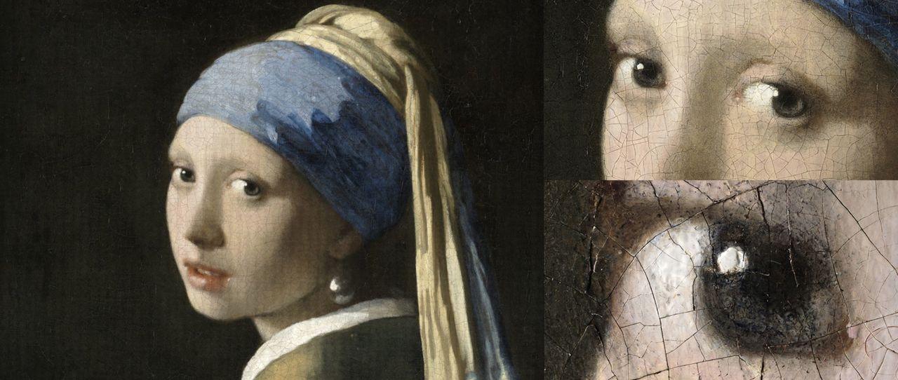 Kolla in Flicka med pärlörhänge