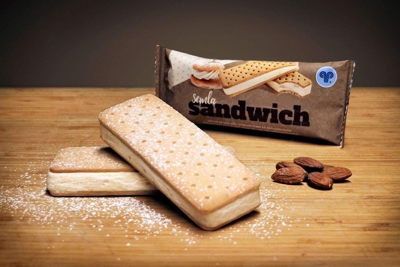 Hemglass lanserar Sandwich Semla