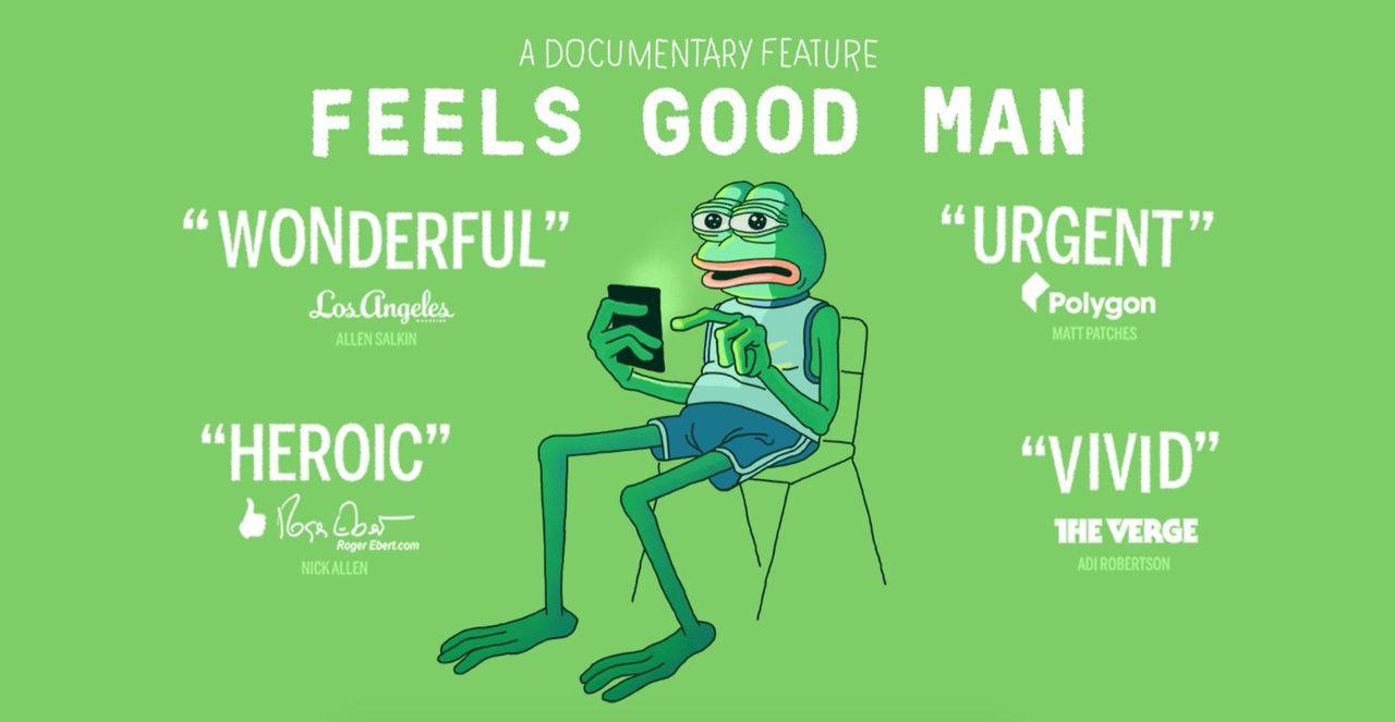 SVT sänder dokumentär om Pepe the Frog