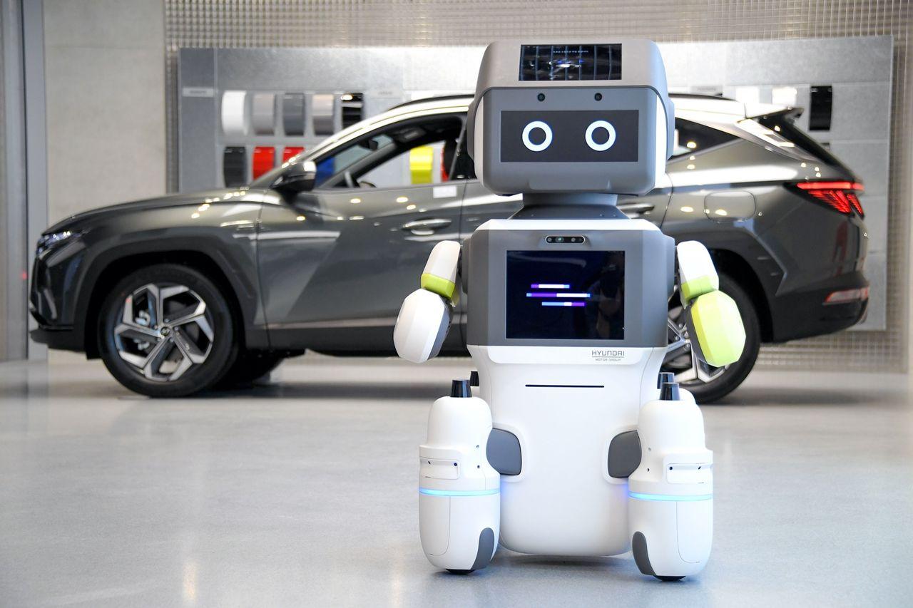 Hyundai visar upp roboten DAL-e