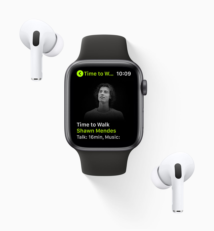 Apple släpper Time to Walk till Apple Fitness+